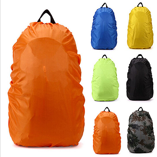 Reflective Backpack Cover Dust Rain Hiking Camping Rucksack Cover 35L 45L