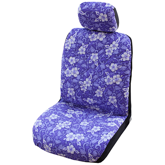 buy purple ulu fruit hawaiian separate headrest car seat. Black Bedroom Furniture Sets. Home Design Ideas