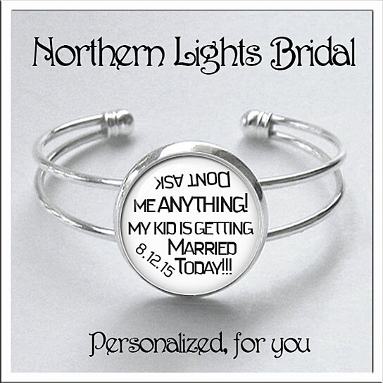 Bridal Gift From Mother: Buy Gift For Nervous Mother Of The Bride Or Groom Silver