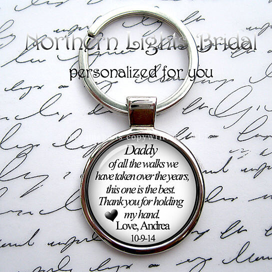 Buy mens silver key chain father of the bride daddy of all the walks