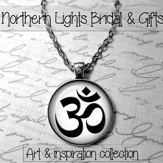 Buy Om Jewelry Om Necklace Photo Pendant Om Symbol Meditation