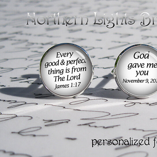 Buy Personalized Groom Cufflinks Custom Unique Gift For