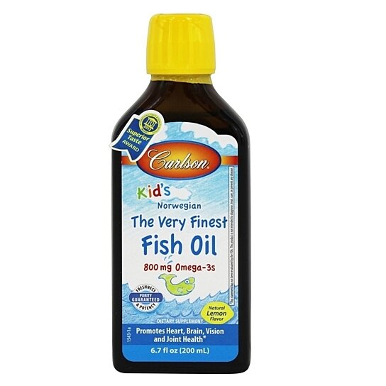 Buy carlson labs for kids the very finest norwegian fish for Norwegian fish oil