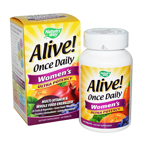 Nature S Way Alive Once Daily Women S Multivitamin Ultra Potency