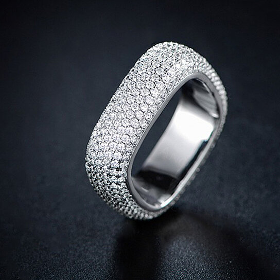Swarovski Elements Square Ring