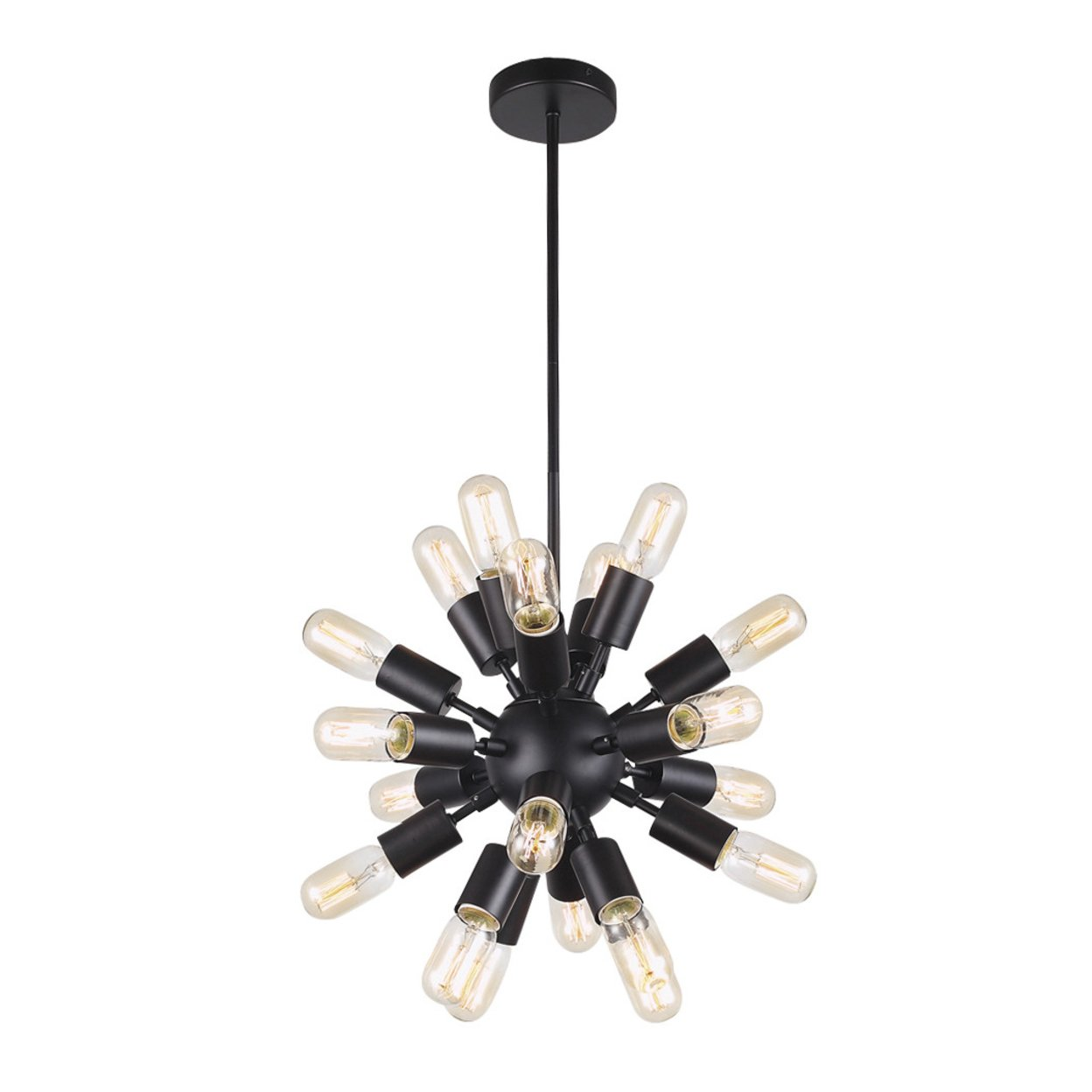 Astrid Black Mini Chandelier