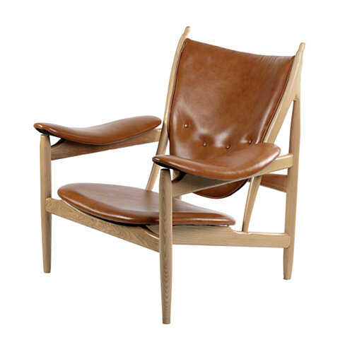 BURNT ORANGE ARNE CHAIR