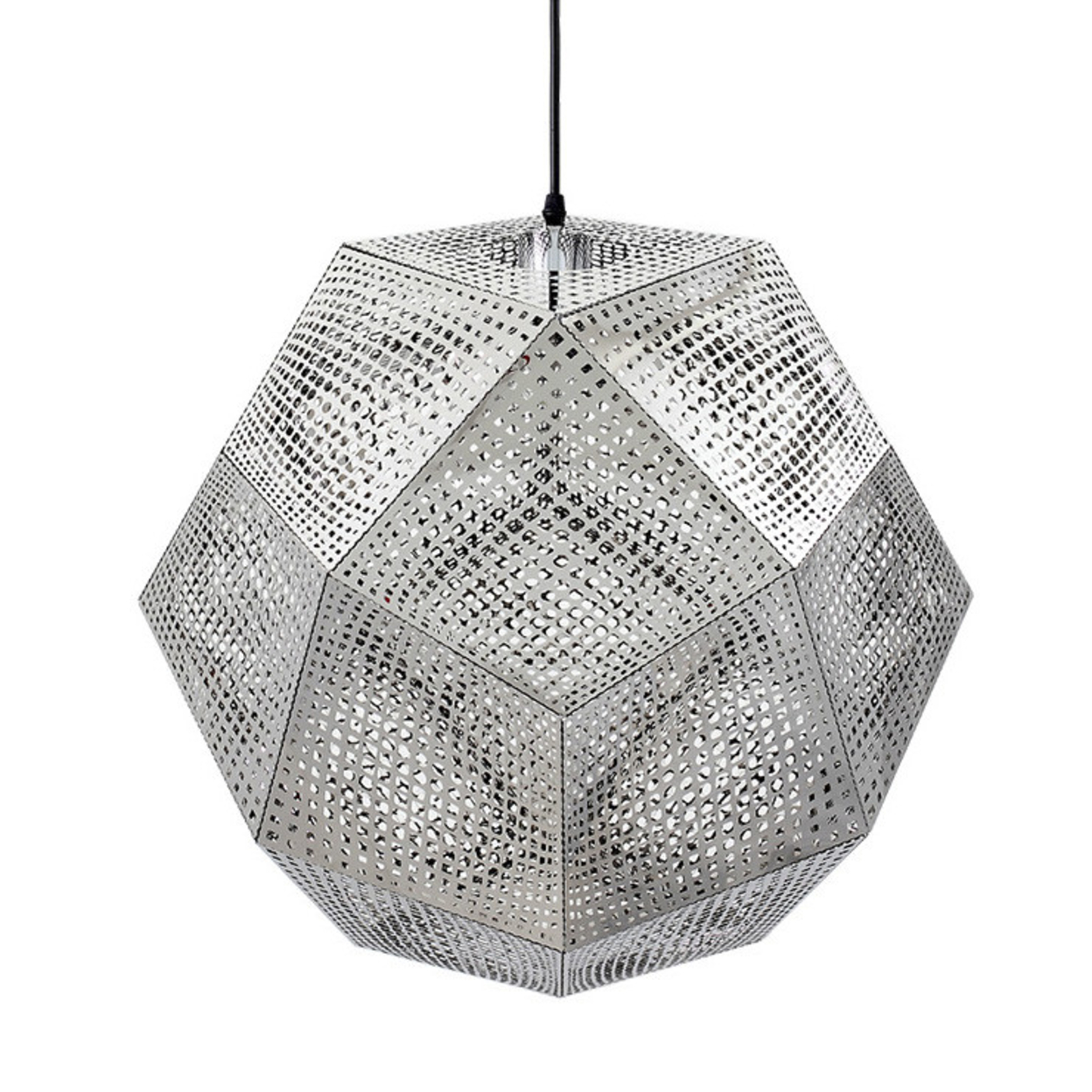 Elke Silver Pendant Light