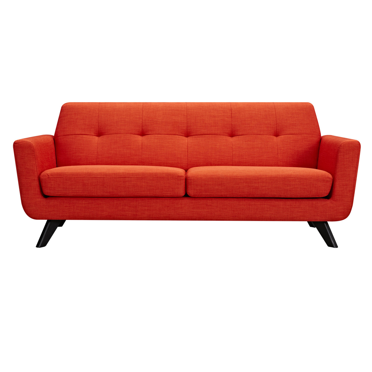 Orange sofa usa for Sofa orange
