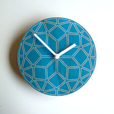 Objectify Geometric Wall Clock