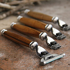 Handmade Organic, Sustainable Teak Razor