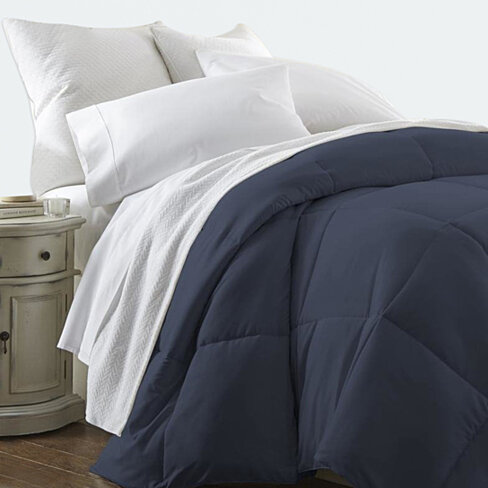 Olive and Twill Micro-Down Alternative Comforter