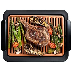 GOTHAM STEEL Smokeless Electric Grill, Portable and Nonstick As Seen On TV