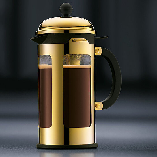 Gold French Press Coffee Maker : Buy Bodum Gold French Press by OpenSky Design Discoveries on OpenSky