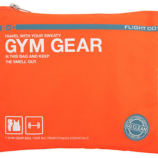 02a23bfaa6 Buy Go Clean Gym Gear Bag (Orange) by Flight 001 by OpenSky Design  Discoveries on OpenSky
