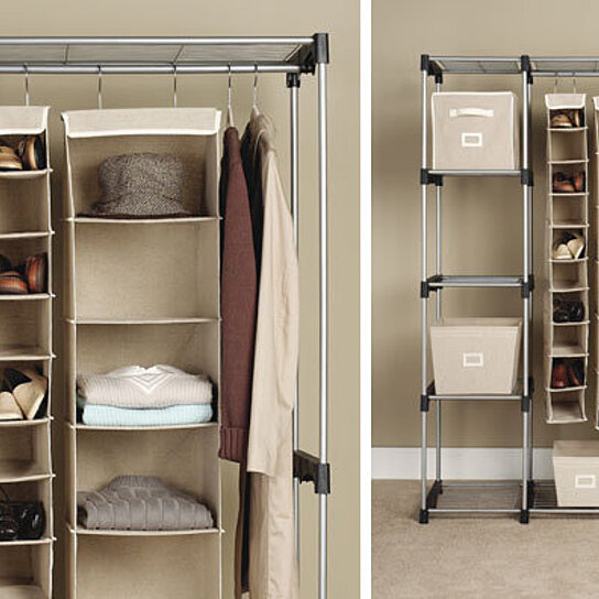 Buy Double Rod Closet By OpenSky Design Discoveries On OpenSky