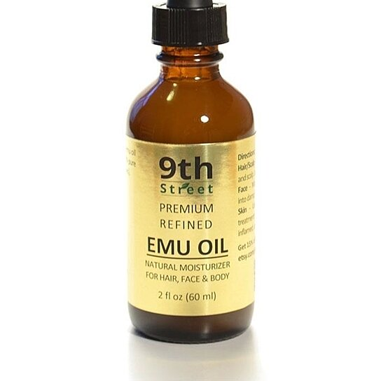 Buy 2 Oz Pure Emu Oil From Australia Promotes Hair Growth