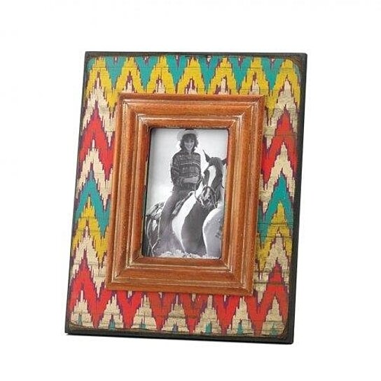 Western Decor Frames: Buy 4 X 6 WOODEN COUNTRY WESTERN THEME PICTURE FRAME PHOTO