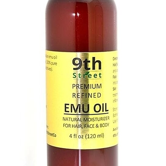Buy 4oz Organic Emu Oil 100 Pure Refined No Additives