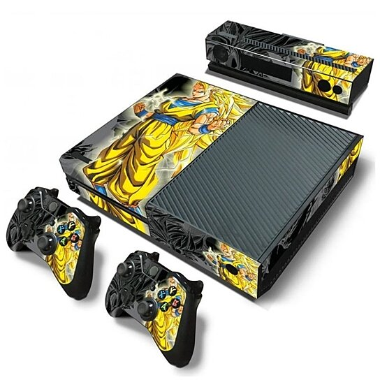 Buy Dragon Ball Z Vinyl Skin Decals For Xbox One Console