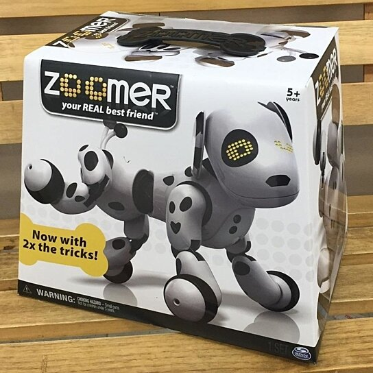 Buy New Zoomer Dalmation Black White Dog Interactive Pet