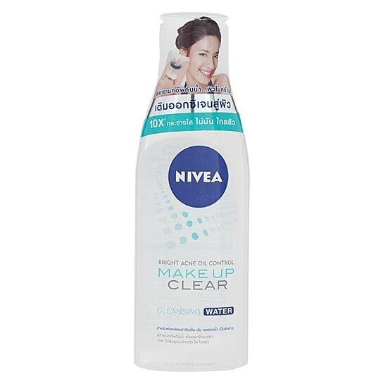 buy nivea bright acne oil control make up clear cleansing. Black Bedroom Furniture Sets. Home Design Ideas