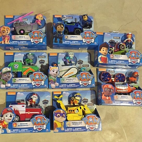 Paw Patrol Sky Toddler Bed Set