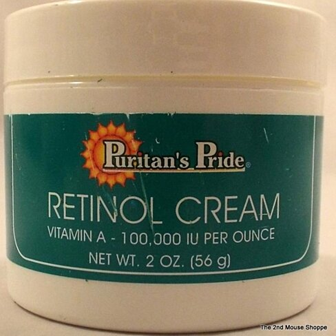 Buy Retinol Cream 2oz Vitamin A 100,000IU Per Ounce