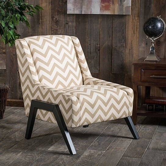buy tan beige modern geometric chevron linen blend