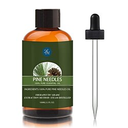 Pine Needles Essential Oil, Premium Therapeutic Grade,100ml