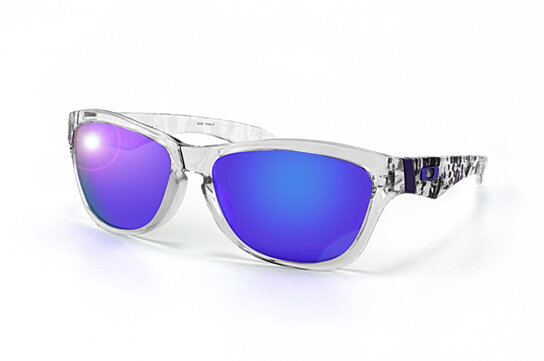 97183e3d55 Oakley Jupiter Polished Clear With Violet Iridium Lens « Heritage Malta