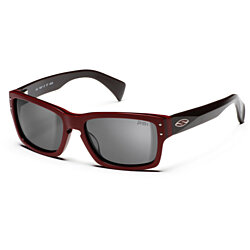 Smith Optics Chemist Sun Sunglasses Red Bordeaux Gray CHEMIST-S-G7F