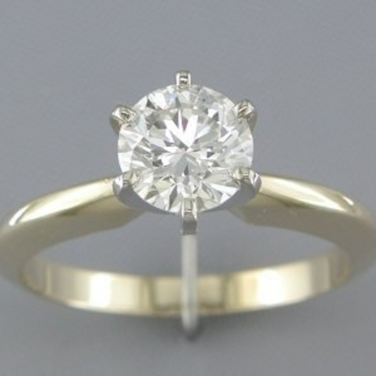 Egl Cert 1.03 Diamond Solitaire Ring Style R23218