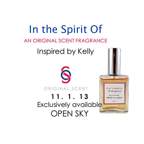 "EXCLUSIVE ITEM ""In the Spirit Of""   a Kelly Bensimon Original Scent"
