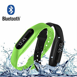 SmartActive Water Resistant Health And Fitness Monitor Watch With 2ND Band FREE