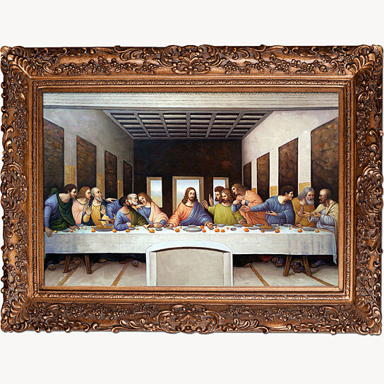 Buy The Last Supper Burgeon Gold Frame 24 Quot X36 Quot By Overstockart On Opensky