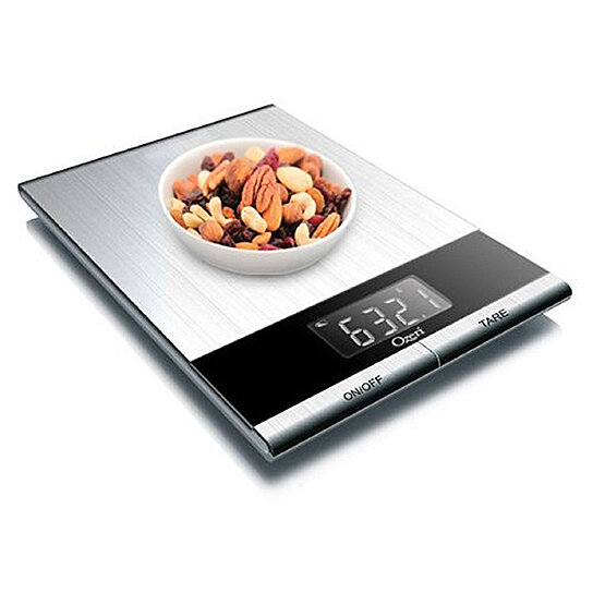 Buy ozeri ultra thin professional digital kitchen food and for Professional food scale