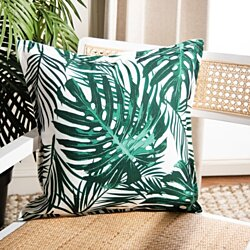 Andala Pillow Green / White