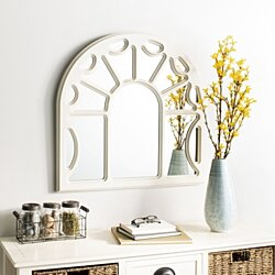 Joelle Mirror White