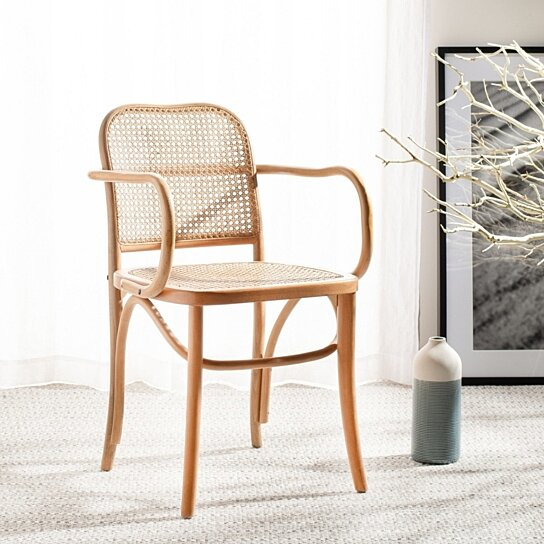 Peachy Keiko Cane Dining Chair Natural Ncnpc Chair Design For Home Ncnpcorg