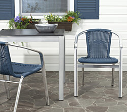 Landry Indoor-Outdoor Stacking Counter Stool