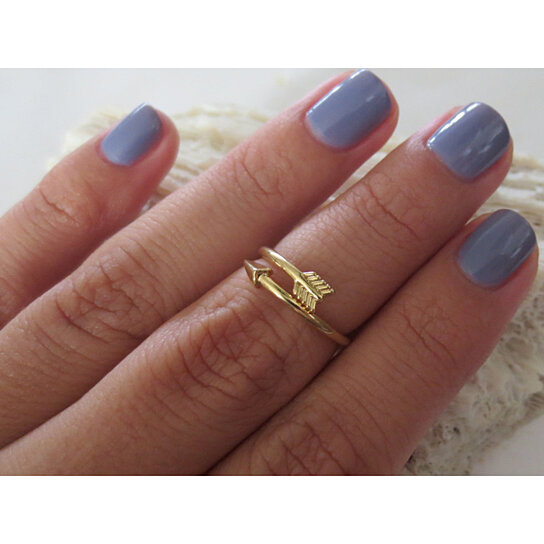 buy gold and silver adjustable arrow knuckle rings mid