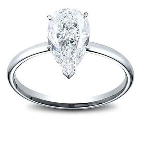 buy 14k white gold 1 2 carat genuine marquise si1