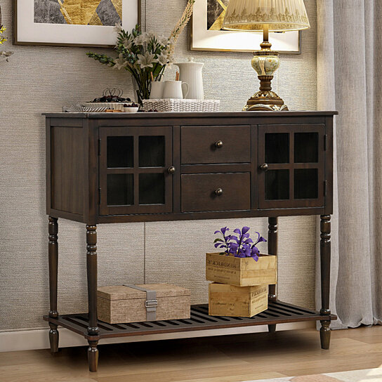 Sideboard Console Table With Bottom