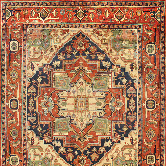Buy Pasargad Serapi Collection Hand Knotted Lambs Wool