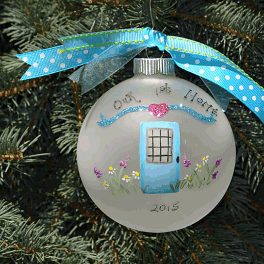 First Home Christmas Ornament cute first home christmas ornament