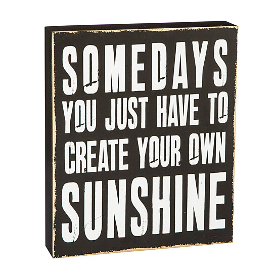 Buy Create Your Own Sunshine Wooden Sign By Pembroke