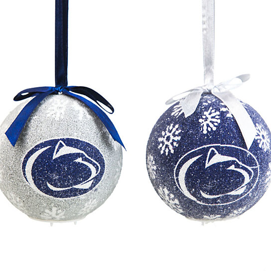 Buy pennsylvania state university led boxed christmas for Penn state decorations home