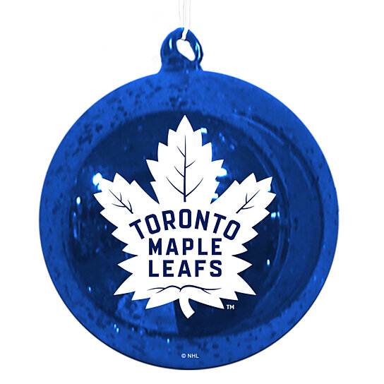 Buy Team Sports America Toronto Maple Leafs Mercury Glass