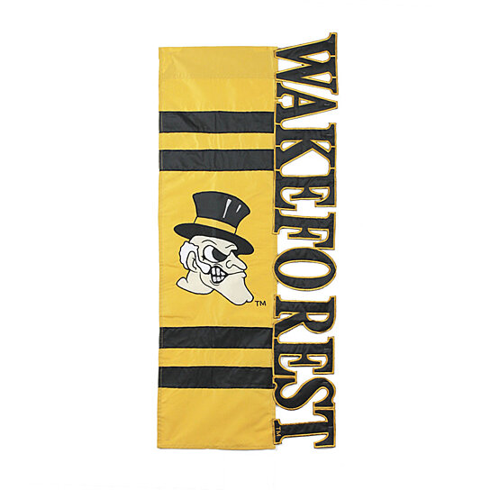 Buy Wake Forest University Sculpted Letters Applique House